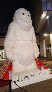 Yeti di Natale a Riccione